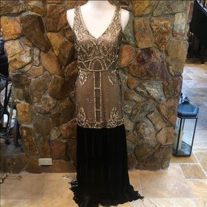 Sue Wong Gatsby Style Gown